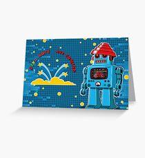 DEVO Bots 008 Greeting Card