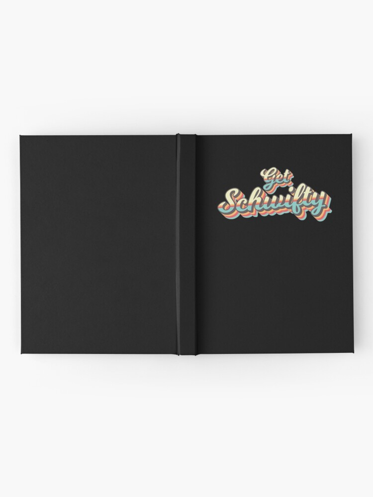 Alternate view of Get Schwifty from Rick and Morty ™ Retro 70s Letters Hardcover Journal