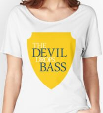 The Devil Drops Bass Women's Relaxed Fit T-Shirt