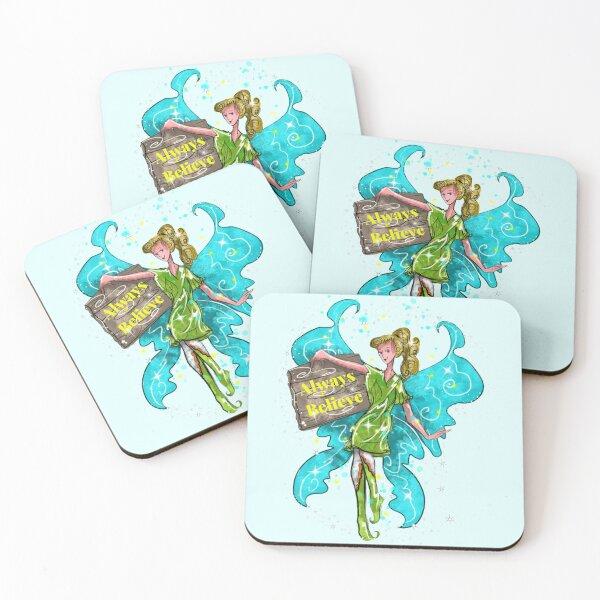 Iva the Inspirational Fairy™ Coasters (Set of 4)