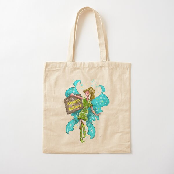 Iva the Inspirational Fairy™ Cotton Tote Bag