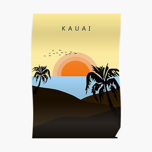Childish Gambino - Kauai - Sticker Poster