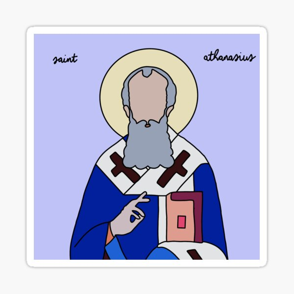 Saint Athanasius Sticker