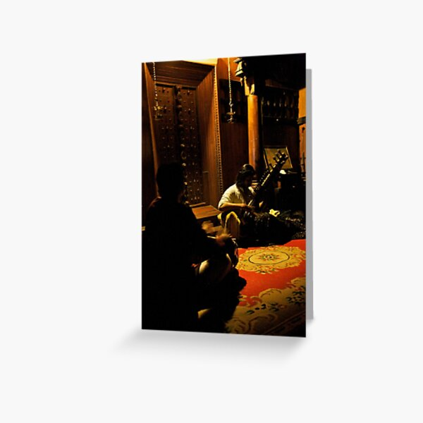 morning ragas : 320 views Greeting Card