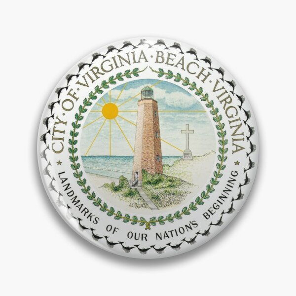 Seal of Virginia Beach, Virginia Pin