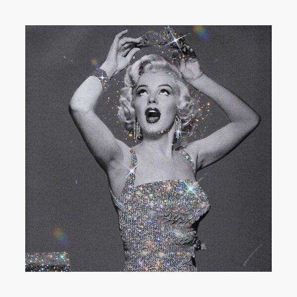 diamonds are a girl's best friend  Photographic Print