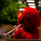 Elmo blows the blues by Rhoufi
