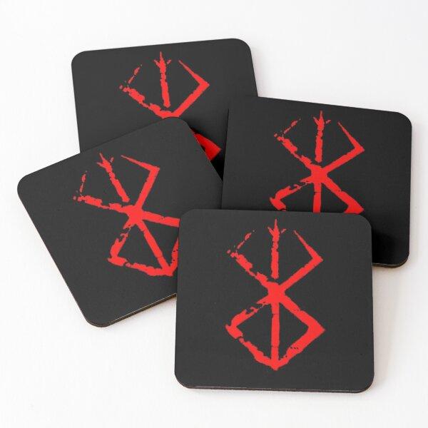 Berserk Brand of Sacrifice  Coasters (Set of 4)