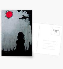 beauty of dark... Postcards