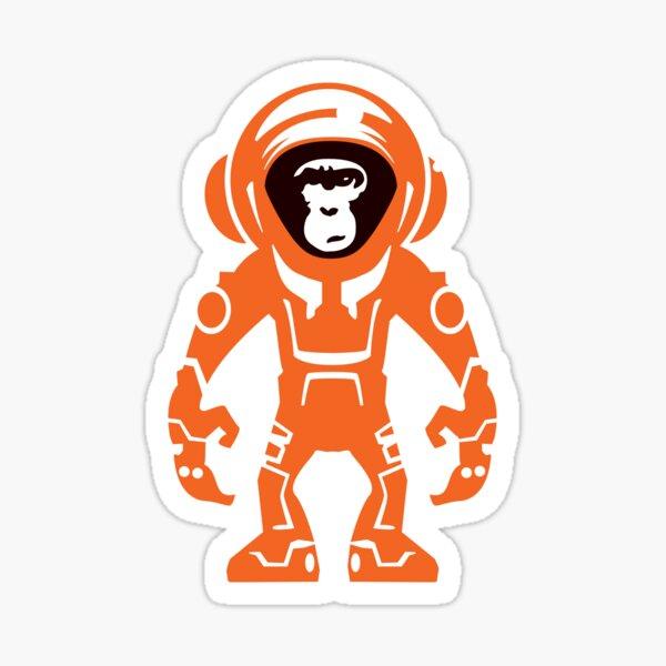 Monkey Crisis On Mars Sticker