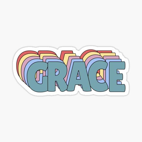 Grace Name  Sticker