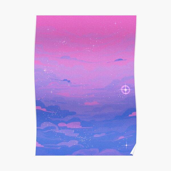 Pride Skies (Bi) Poster