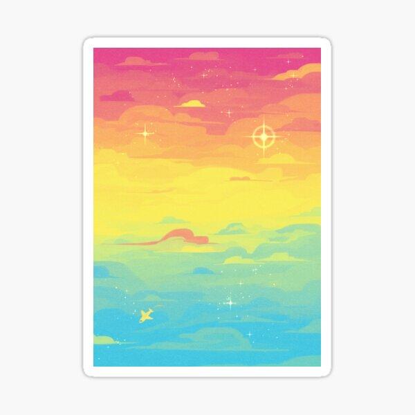 Pride Skies (Pan) Sticker