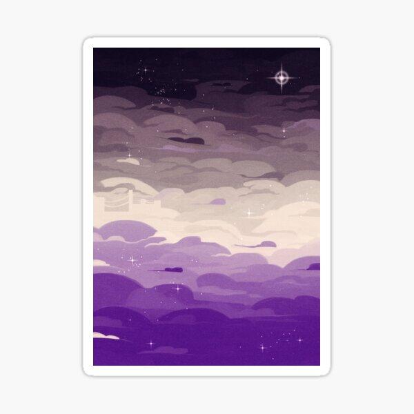 Pride Skies (Ace) Sticker