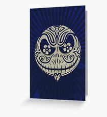 Jack de los Muertos Greeting Card