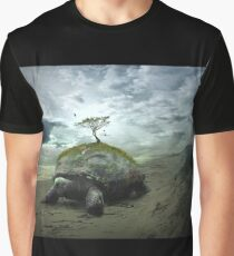 Turtle Island - Iroquois Creation Story Graphic T-Shirt