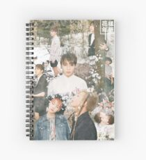 BTS/Bangtan Sonyeondan - The Most Beautiful Moment in Life Collage Pt1 Spiral Notebook