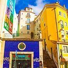 the young tourist and Lisbon morning light by terezadelpilar ~ art & architecture