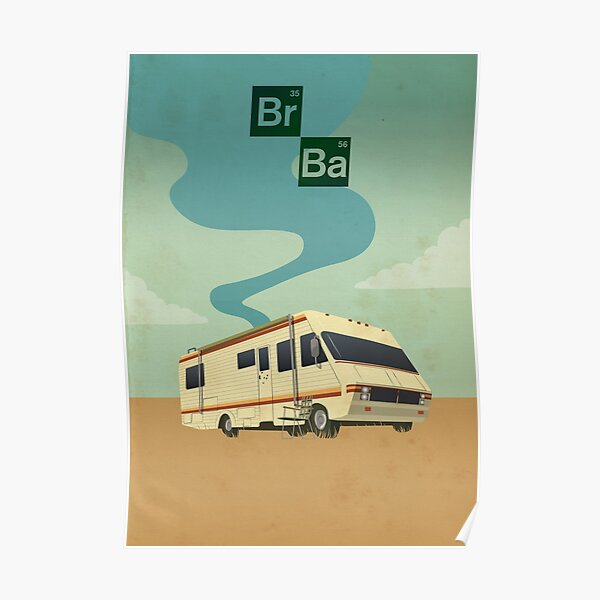 breaking bad crystal ship rv Poster
