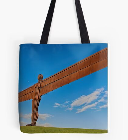 Angel of The North Tote Bag