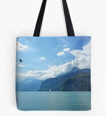 Flying High Sailing By Tote Bag