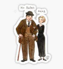 Mr. Bates-Anna Sticker