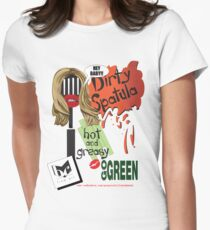 Dirty Spatula Womens Fitted T-Shirt