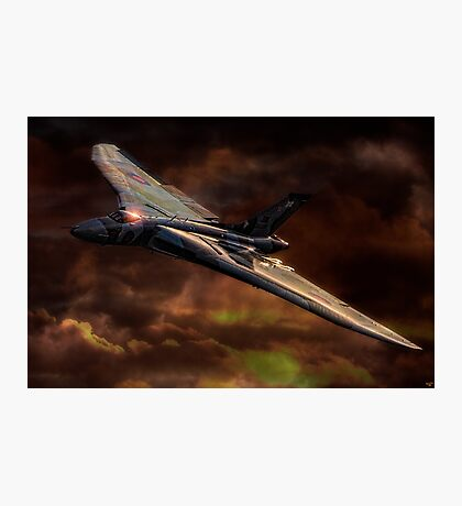 VULCAN - The Last Delta Wing Bomber Photographic Print