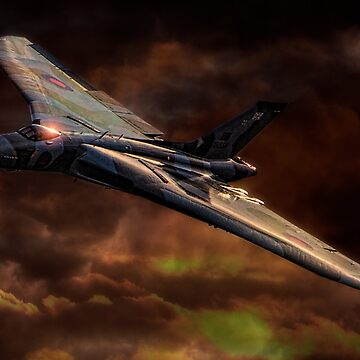 VULCAN - The Last Delta Wing Bomber by ChrisLord