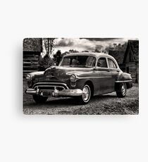 The Test Of Time - 1950 Oldsmobile Rocket 88 Canvas Print