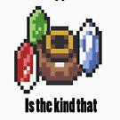 Zelda - Pot free gamer by Jaelachan