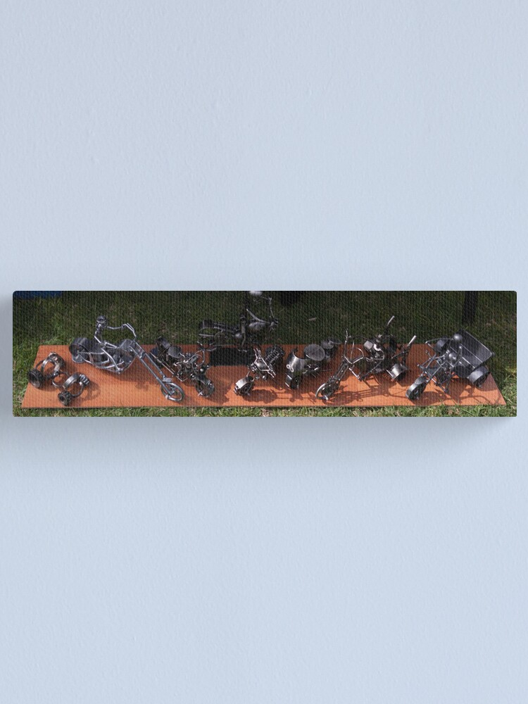 Alternate view of Miniature Sculptures  Canvas Print