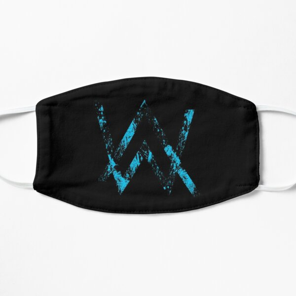 alan walker mask  Flat Mask