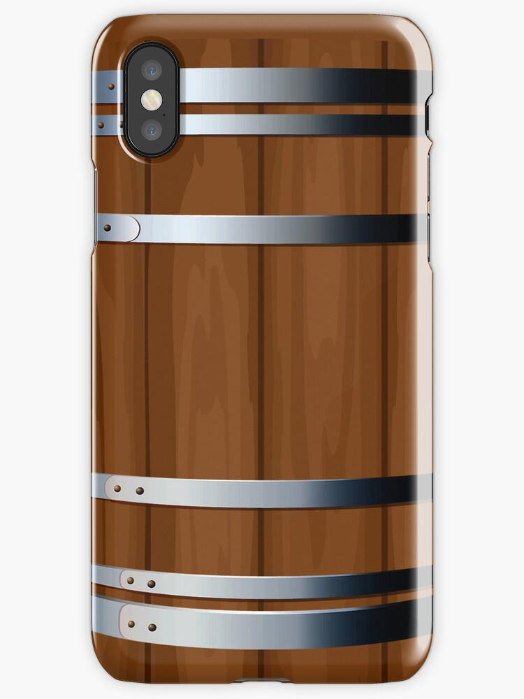 Wooden Beer Barrel iPad Case / iPhone 4 / iPhone 5 Case / Samsung Galaxy Cases  by CroDesign