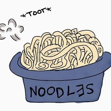Tootsie Noodles by greatbritishchz