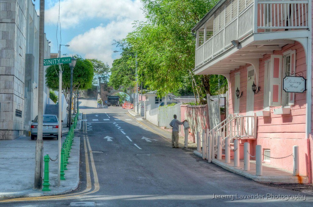 Market Street at Trinity Place in Downtown Nassau, The Bahamas by Jeremy Lavender Photography