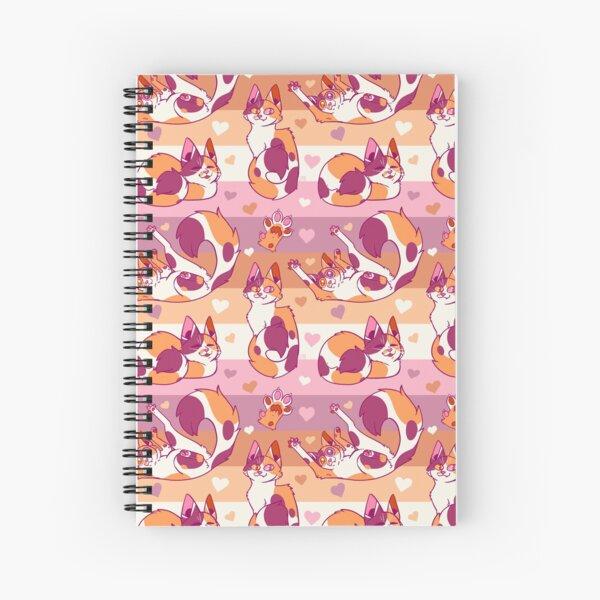 Queer Kitties - Lesbian Spiral Notebook