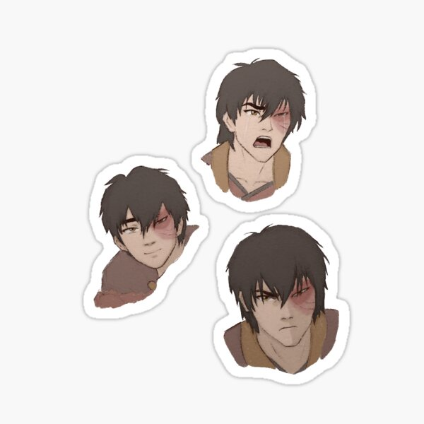 Avatar Character Stickers Redbubble