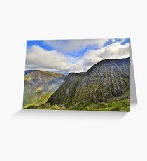 The Lake District: Big Stack on Haystacks Greeting Card