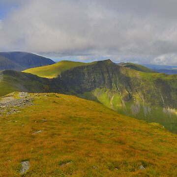The Lake District: Heading to Hopegill Head by rob3003