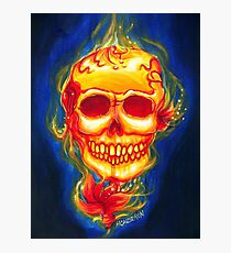 Day of the Dead Scarleta Photographic Print