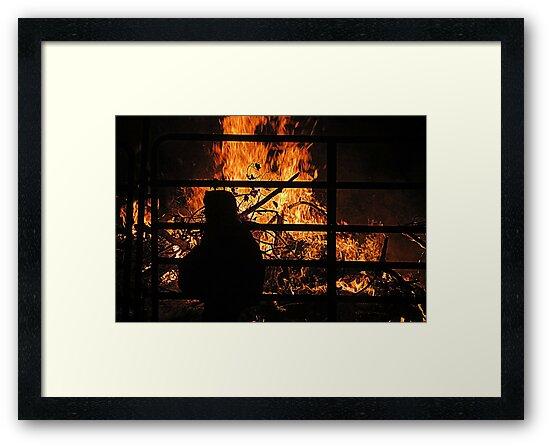 Harvest Bon Fire Celebration by Diane Arndt