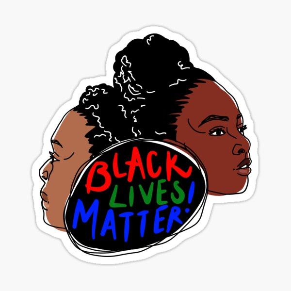 Black Lives Matter Women  Sticker