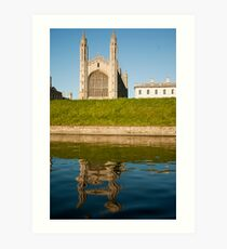 Kings College Chapel, Cambridge Art Print
