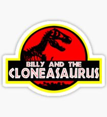 Billy and the cloneasaurus - The Simpsons Cartoon Sticker