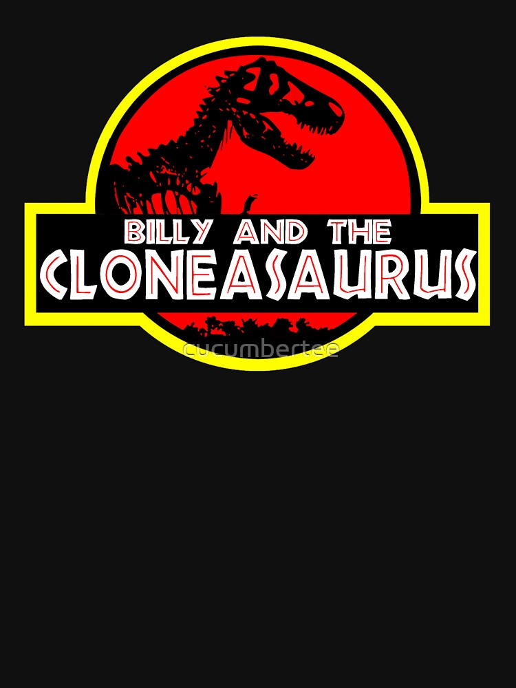 Billy and the cloneasaurus - The Simpsons Cartoon | Unisex T-Shirt