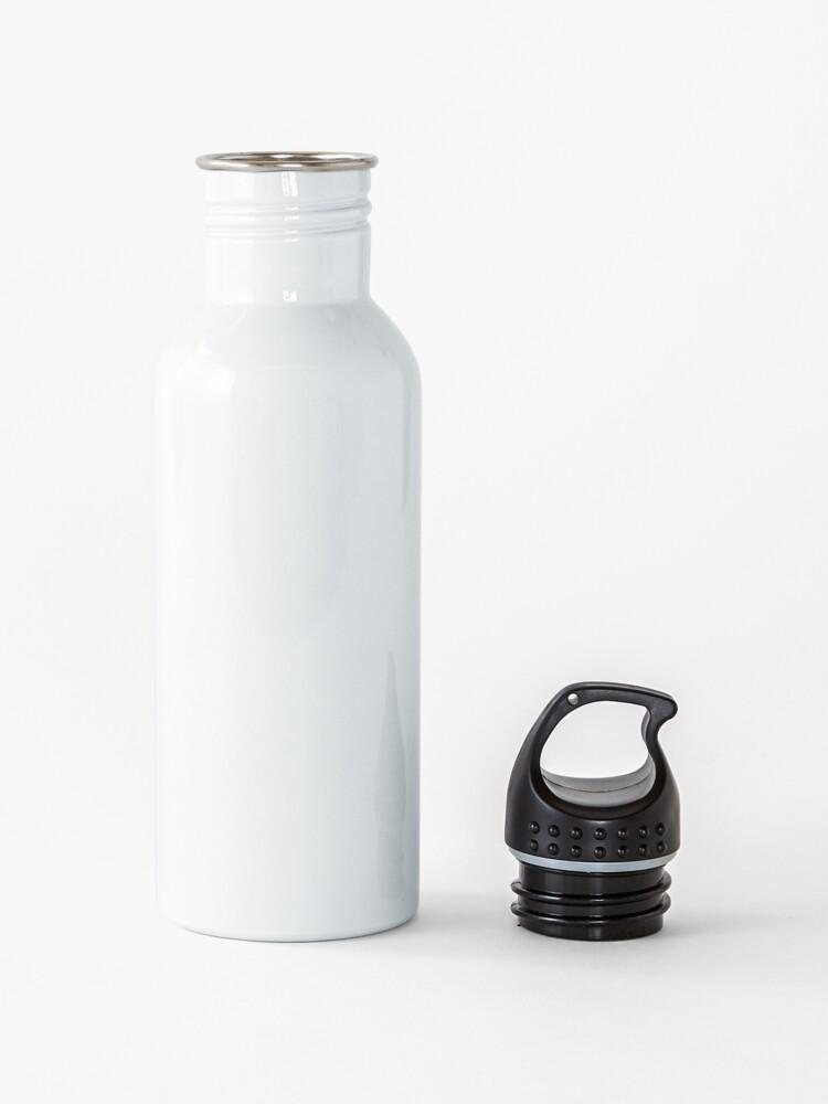 Alternate view of Pickle Rick Modern Art Happy Version - Rick and Morty Fan Art Water Bottle