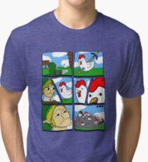 Cucco Wars Tri-blend T-Shirt