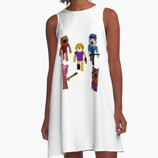 Video Game Pig Dresses Redbubble