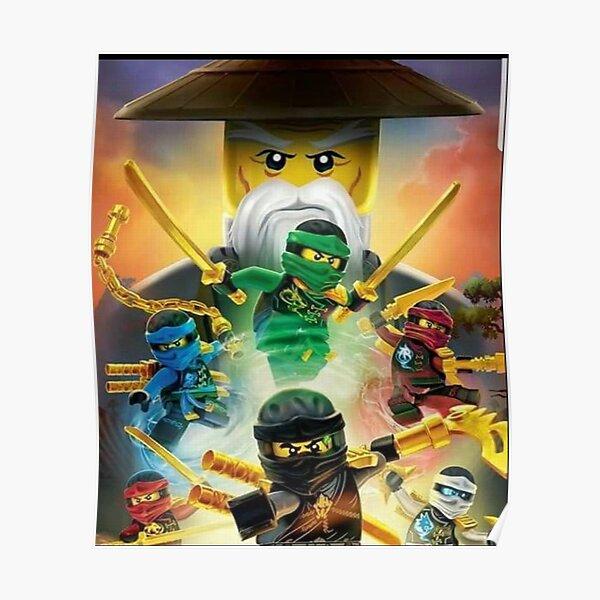 Ninjago Masters of Spinjitzu Poster